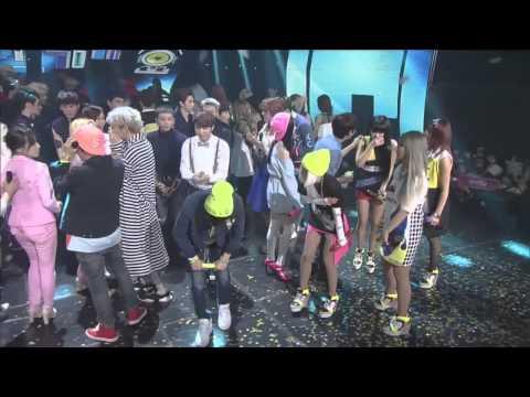 BAEKHYUN & TAEYEON 2014 Inkigayo Moments (Baekyeon)