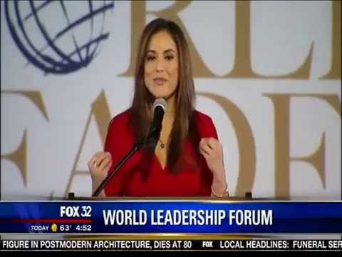 2015 World Leaders Forum - Feature on Fox 32