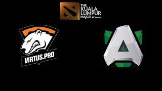 VP vs Alliance The Kuala Lumpur Major Highlights Dota 2
