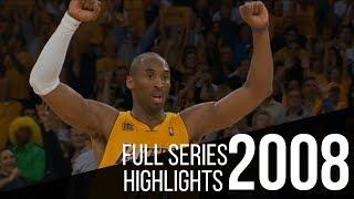 Kobe Bryant Full Series Highlights vs San Antonio Spurs | 2008 WCF Lakers vs Spurs
