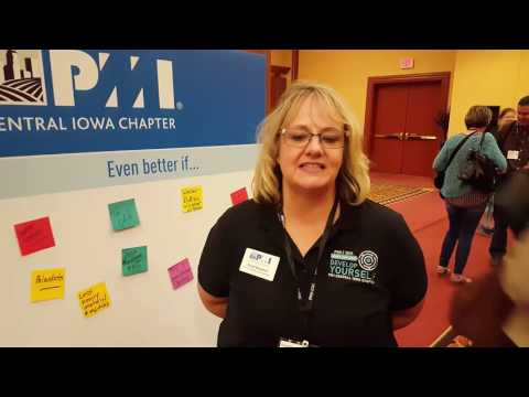PMI Central Iowa Chapter Testimonial   Candi Banghart