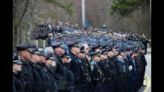 Watch the funeral procession of fallen Yarmouth Sgt. Sean Gannon