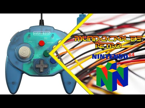 Tribute 64 Retro Bits - MundoCables Retro