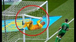 Football Crossbar Crazy moments ● HD
