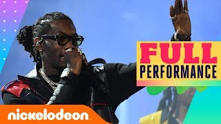 Migos Performs Medley of 'Walk it Like I Talk It', 'Stir Fry', & MORE! | 2019 Kids' Choice Awards