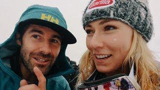 BEHIND THE SCENES at SÖLDEN WORLD CUP SKIING - Mikaela Shiffrin cameo  🙌  |  VLOG 122