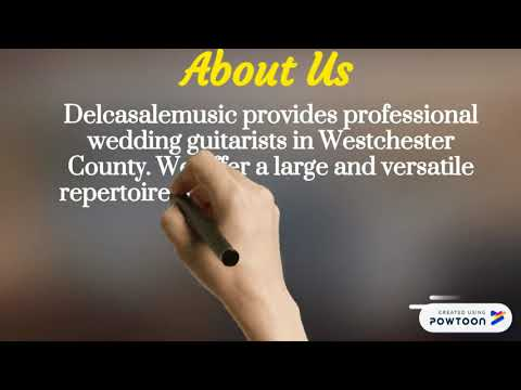 Planning for guitarist for wedding in Westchester County