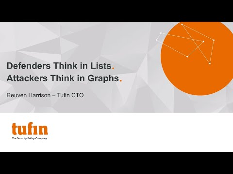 Defenders Think in Lists. Attackers Think in Graphs.