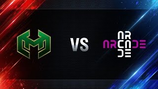 Carpe Diem vs Arcade eSports - day 1 week 6 Season I Gold Series WGL RU 2016/17