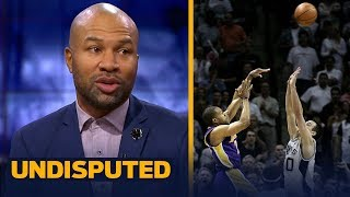 Derek Fisher breaks down his epic 2004 game-winner, talks Lakers' point guards | NBA | UNDISPUTED