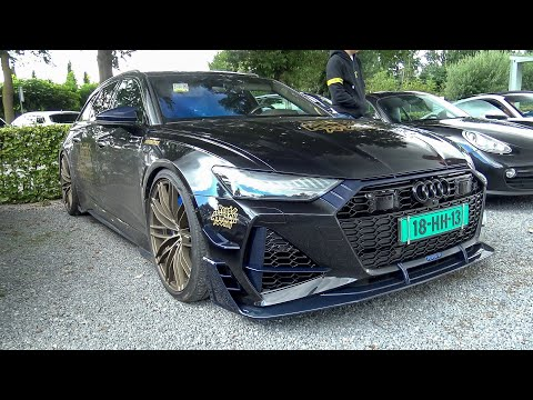 740HP ABT Audi RS6-R C8 1 of 125 - Driving on the Streets & Overview !