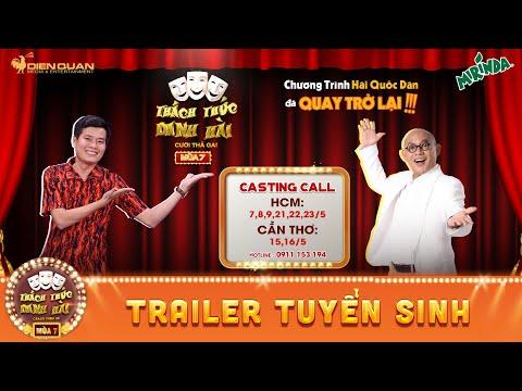 Thách thức danh hài mùa 7 | CASTING CALL | 5 PHÚT TỎA SÁNG THÀNH SAO - đăng kí casting ngay nào!!!