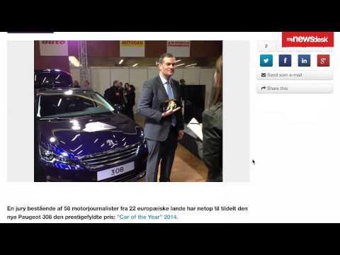 Mynewsdesk- driving the web traffic at Peugeot