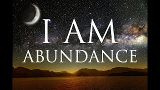 I AM Affirmations: Spiritual Abundance, Prosperity & Success | Solfeggio 852 & 963 Hz  | Alpha Beats