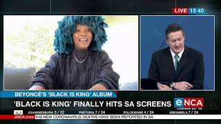 Musician Moonchild Sanelly talks about Beyonce's visual album | Black Is King