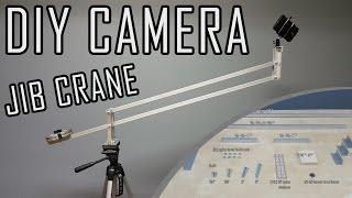 Easy DIY Camera Crane Jib - Complete parts list