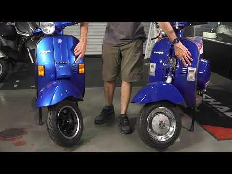 Battle of the PKs! Hot Rodded Vespa PK125S vs. PK50XL || 80's Vespa Small Frame Scooters