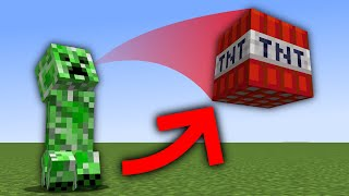 Minecraft, But Mobs Throw TNT At You...