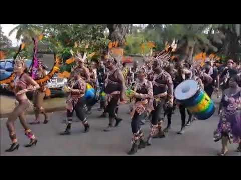Le carnaval à Capesterre Belle Eau , Guadeloupe 2020