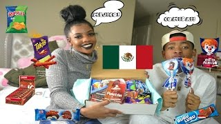 AMERICANS TRY MEXICAN SNACKS