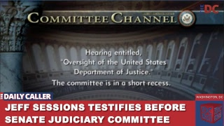 Jeff Sessions Testifies Before Senate Judiciary Committee