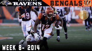 Dalton Sneaks the Bengals Into First! (Ravens vs. Bengals, 2014)   NFL Vault Highlights