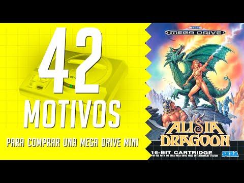 Alisia Dragoon. 42 motivos para comprar una Mega Drive Mini. (32/42)