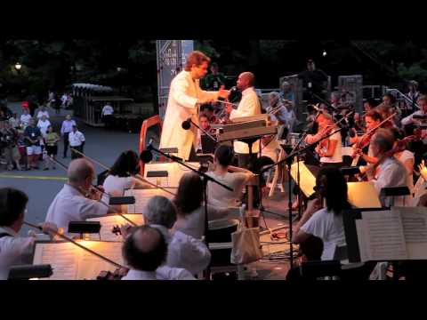 The Second New York Philharmonic Concert in Central Park, July 14, 2010