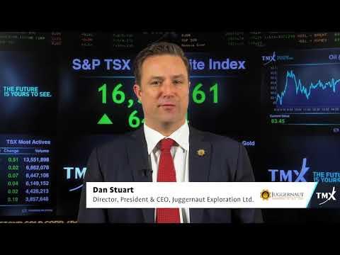 View from the C-Suite: Dan Stuart, Director, President & CEO of Juggernaut Exploration Ltd., tells his company's story.