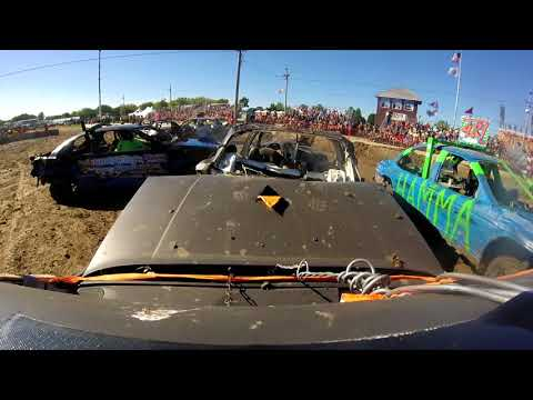 #90 COMPACT DEMOLITION DERBY SANDWICH IL