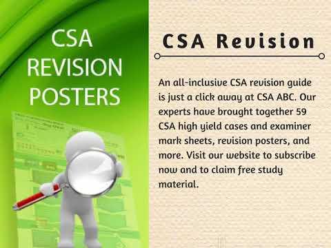 CSA Revision