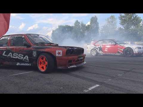 Drift at Tuning BG Show (2016) in 3D