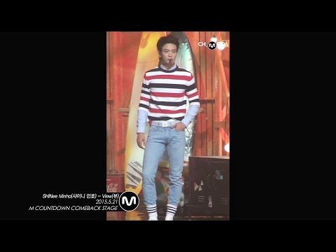[MPD직캠] 샤이니 민호 직캠 View SHINee Minho Fancam Mnet MCOUNTDOWN 150521