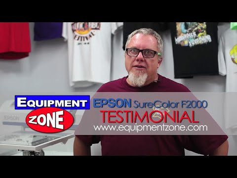 Epson F2000 DTG Testimonial: Be Seen Wear - Valley Center, CA