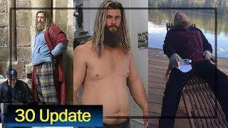 Avenger Endgame Thor BTS    Wonder Woman 1984 Big Update    AG Media News