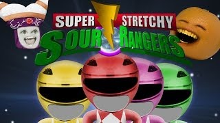Annoying Orange - Sour Rangers (Power Rangers Spoof!)