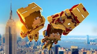 Minecraft: WHO'S YOUR DADDY FAMILY? BEBÊ DO IRON MAN (IRON BABY)