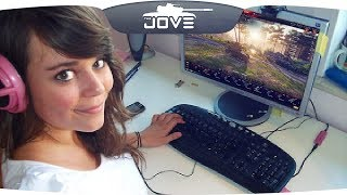 Эта девушка играет лучше, чем 95% игроков World Of Tanks