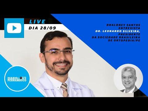 Rhaldney Santos entrevista o ortopedista Leonardo Silveira