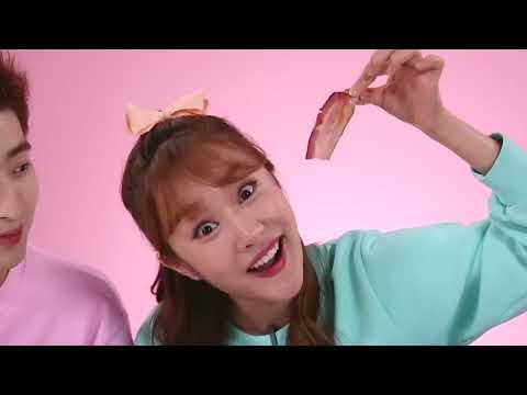 강이와 젤리음식 실제음식 복불복 뽑기 게임 real vs gummy 지니