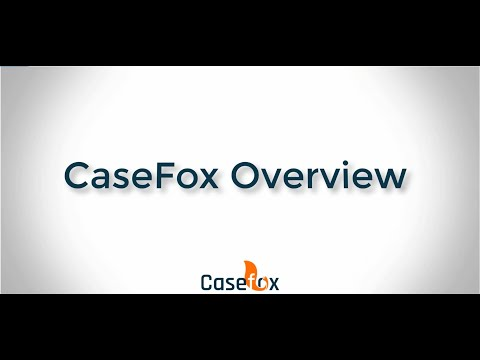 Legal Billing & Case Management Software Overview – CaseFox