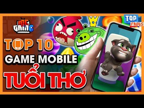 Top 10 Game Mobile Tuổi Thơ Hay Nhất - Ai Cũng Chơi | meGAME