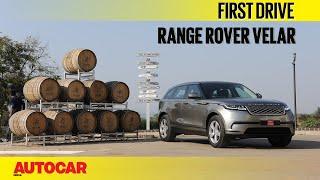 Range Rover Velar   First Drive   Autocar India