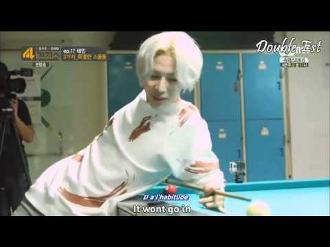 [TheLivMeDy] Kai Taemin Play Billiard  4 Thing Show vostfr 140819