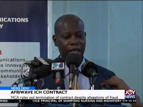 Afriwave Interconnect Clearing House contract - News Desk on Joy News (12-2-16)