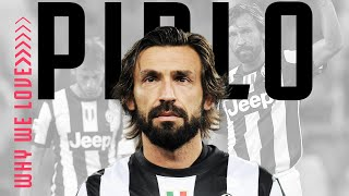 10 Reasons Why We Love Andrea Pirlo | Bianconeri Legends | Juventus