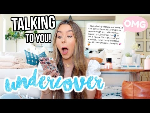 I WENT UNDERCOVER AS A FAN ACCOUNT! + TALKED TO YOU GUYS!