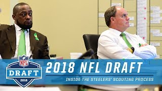 Inside the Steelers' Scouting Process w/ Rooney, Tomlin & Staff | 2018 NFL Draft