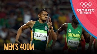Rio Replay: Men's 400m Sprint Final