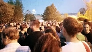 Протесты Екатеринбурге. День